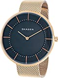 Skagen  Women's  SKW1089 Gitte Steel-Mesh Watch and Agnethe Necklace Box Set