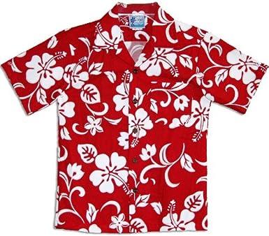 4e24b1445 Classic Hibiscus Boys Hawaiian Shirts - Hawaiian Shirts - Aloha Shirt - Hawaiian  Clothing - 100