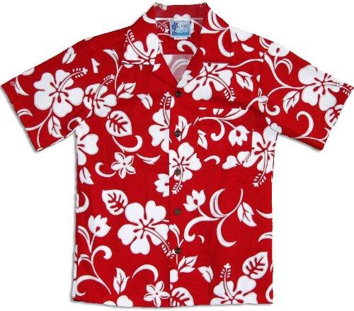a2e8a1ef Amazon.com: Classic Hibiscus Boys Hawaiian Shirts - Hawaiian Shirts - Aloha  Shirt - Hawaiian: Button Down Shirts: Clothing