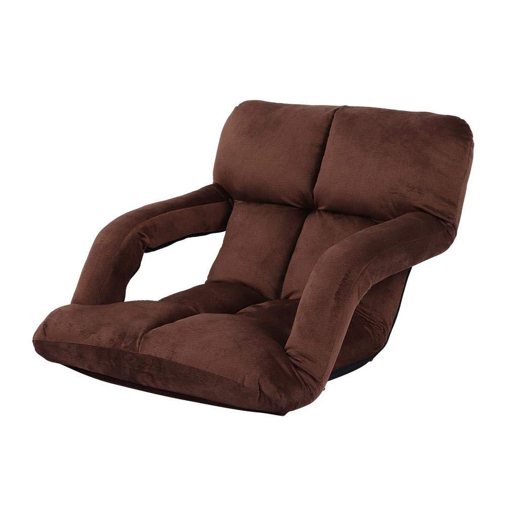 90 * 60 * 13cm Regolabile 90/°-180/° GOTOTO Sedia da Pavimento Imbottita Poltrona Divano Pieghevole per Meditazione Lettura e TV Sedia da Yoga Meditation Chair Imbottita Rosa
