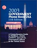 Government Phone Book U. S. A. 2003, , 0780806204