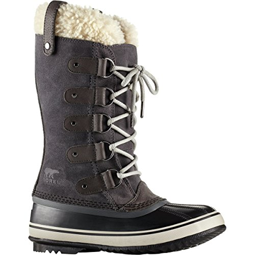 SOREL Women's Joan Of Arctic Shearling Dark Grey/Black 10 B US (Artic Of Joan Boots)