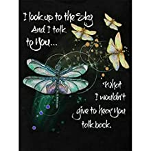 "Diamond Painting, DIY 5D Diamond Painting by Number Kits, Crystal Round Rhinestone Embroidery Paint with Diamonds, Full Drill Canvas Art Picture for Home Wall Decor 30X40cm/11.82X15.75"" (Dragonfly)"