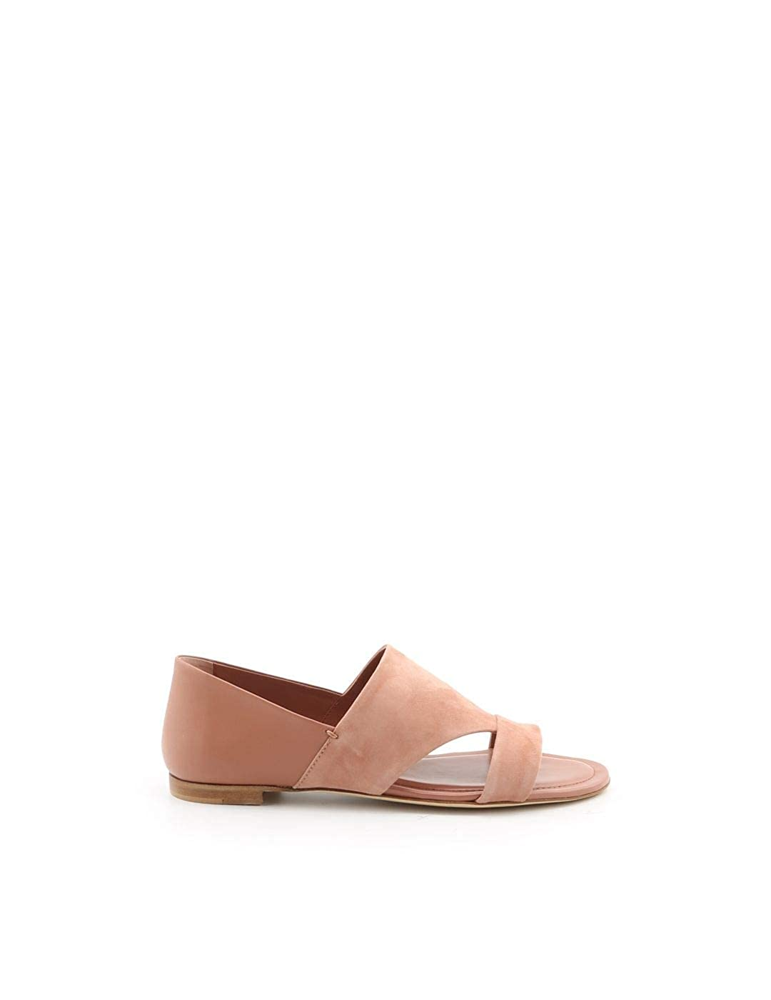 - Tod's Women's XXW37B0AT70KPNM026 Pink Leather Sandals