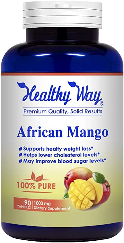 Amazon Com Healthy Way Best African Mango Cleanse Extra Strong