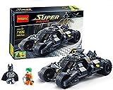 Marvel Super Heroes Batman Chariot Tumbler Building Blocks Decool 7105 Joker Bricks toys Compatible with Lego minifigures (Original Box)