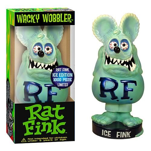 Rat Fink Ice Limited Edition Bobble Head