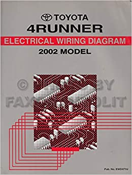 2002 toyota 4runner wiring diagram manual original: toyota: amazon.com:  books  amazon.com