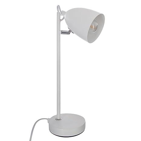 Lámpara de mesa de metal - Flexo inclinable - Estilo Nórdico ...