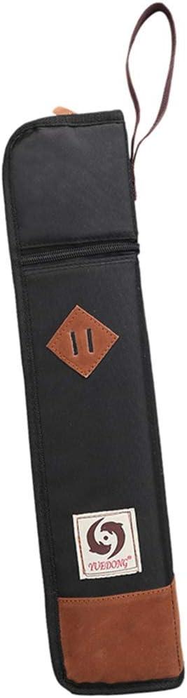 Soporte Para Bolsa/Estuche Para Baquetas: Tiene 4-6 Pares De Baquetas - Negro: Amazon.es: Instrumentos musicales