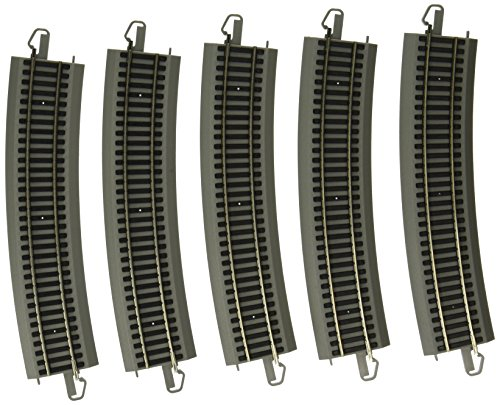 Bachmann Trains Snap-Fit E-Z Track Nickel Silver World's  Greatest Hobby First Railroad Track (Nickel Silver Rail)