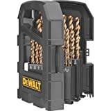 DEWALT DW1269 29-Piece Cobalt Pilot-Point Metal Drill Bit...