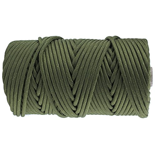 GOLBERG 750lb Paracord / Parachute Cord – US Military Grade – Authentic Mil-Spec Type IV 750 lb Tensile Strength Strong Paracord – Mil-C-5040-H – 100% Nylon – Made in USA - Sport Fisher Kayak