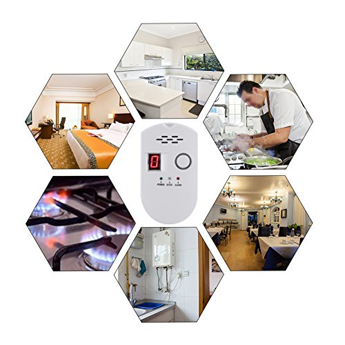 Yosoo Gas Leakage Detector Family Safety Alarm for US Plug by Yosoo (Image #5)