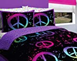 Latitude Peace Bag Teen Bedding Full Multi