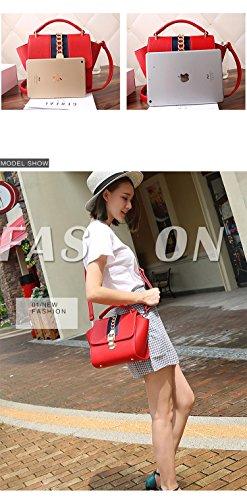 Litchi Sac Red Motif Sac Bandoulière Bag à Messenger Satchel tout main Designer fourre Ailes pour femmes les HHAqr