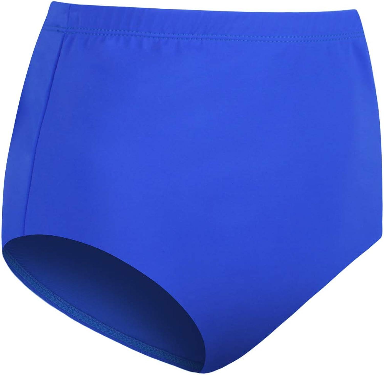 JINXUEER Womens Plus-Size High Waist Bikini Tankini Swimsuit Bottoms Vintage Swimwear
