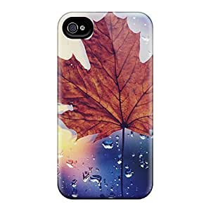 Anti-scratch And Shatterproof Dried Maple Leaf Phone Cases For Iphone 6/ High Quality Cases