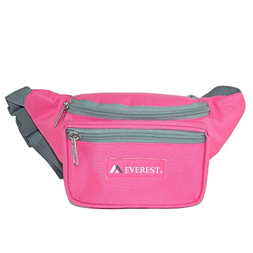 (Everest Signature Waist Pack-Standard, Rose, One Size)