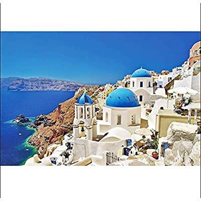 Puzzles for Adults, Landscape Jigsaw Puzzles, 1000 Piece Puzzles, European City View Jigsaw Puzzles City Puzzle, Nature Puzzle for Home Photo Frame Wall Decoration: Toys & Games