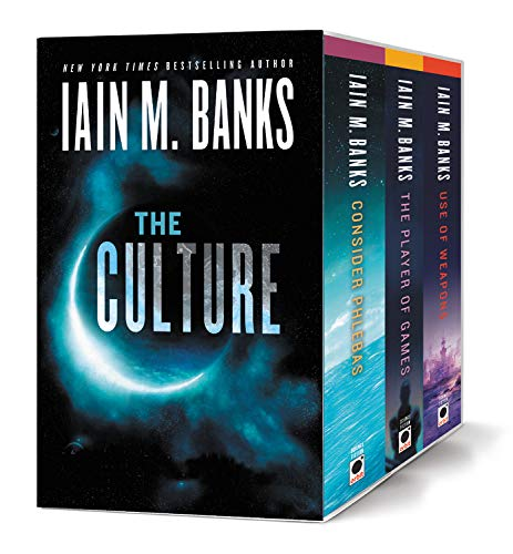 The Culture Boxed Set: Consider Phlebas, Player of Games and Use ...