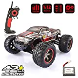 GoStock RC Hobby Truck 1:12 Scale Electric Monster Truck 4WD Off Road High Speed 42km/h Fast Race Car 2.4Ghz Radio Remote Control Vehicle for RC Hobby Grade