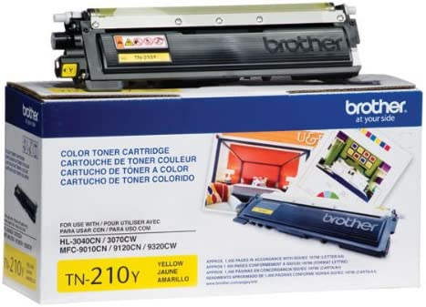 3045CN 3070CW Yellow Print.After.Print Compatible Toner Replacement for Brother TN210Y 9125CN 9320CW Works with: HL 3040CN 9325CW 9120CN 3075CW; DCP 9010CN; MFC 9010CN 9320CN