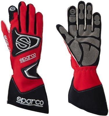 Alpinestars Tech 1-K Race Kart Gloves Black XL Red in Small White