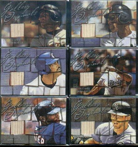 (2003 Topps Gallery Originals Gallery Bat Relics #TH Todd Helton Game-Used Memorabilia Card)