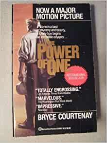 a review of the power of one a novel by bryce courtenay Buy the hardcover book power of one by bryce courtenay at indigoca, canada's largest bookstore + get free shipping on fiction and literature books over $25.