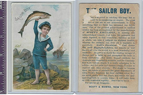 victorian-card-1890s-scotts-emulsion-sailor-boy-with-fish