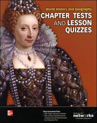 Read Online World History and Geography, Chapter Tests and Lesson Quizzes ) 2013 pdf epub