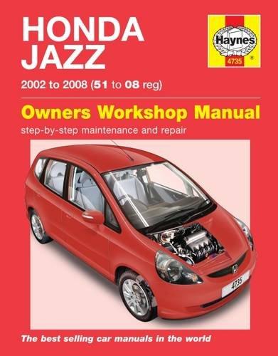 Honda Jazz (02 - 08) Haynes Repair Manual Paperback – 4 Nov 2014