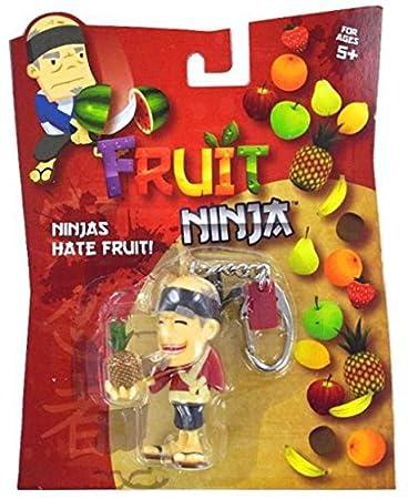 Amazon.com: Fruit Ninja Sensei Llavero Llavero Blade Slice ...