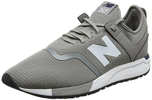 Nieuw Evenwicht Heren 247d1 Sneaker Staal / Pigment
