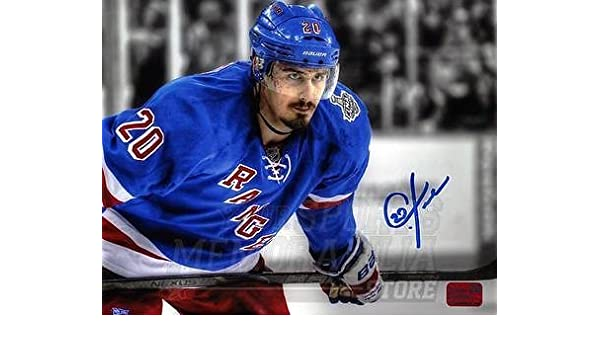 Chris Kreider New York Rangers Signed Autographed 2014 Stanley Cup Finals  8x10 at Amazon s Sports Collectibles Store e4e8b355e