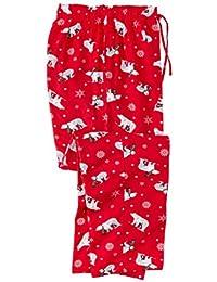 Men's Big & Tall Holiday Print Flannel Pajama Pants