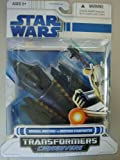 Hasbro Transformers Crossovers General Grievous to Grevous Starfighter