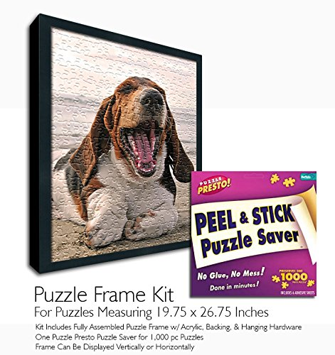 Jigsaw Puzzle Frame Kit - Made to Display Puzzles Measuring 19.75x26.75 Inches by Buffalo Games