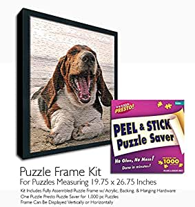 Amazon Com Jigsaw Puzzle Frame Kit Made To Display