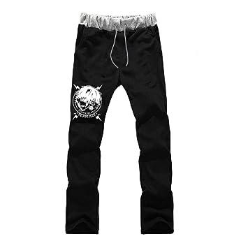 wywyet Tokyo Ghoul Pantalones de Chándal para Hombre Pantalón ...