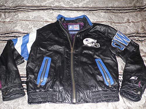 Vintage cowboys leather jacket]()