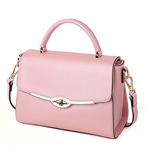 Fashion Shoulder Pink La Pink Bag De Hombro Handbag De De Leodika Leodika Bag Casual Champagne De Las Bolsa Bolso Bolso Hombro Fashion Informal Ladies Manera Bolso Señoras Shoulder Champagne Moda Handbag ASn6qwg