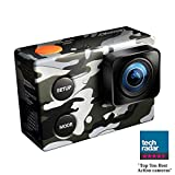 ISAW Edge Camo Edition action camera 4K 1080p 60fps (16MP Sony sensor) unique camouflage decal, waterproof housing 40m Action Cameras