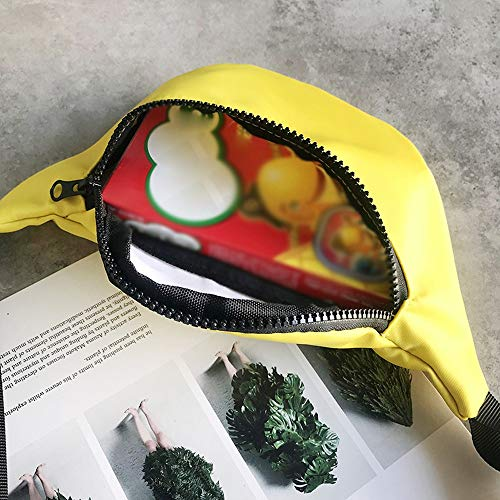 Fashion Children's Bag Waist Bag Chest Bag,Outsta Coin Purse Snack Pack Zipper Fanny Classic Daypack Travel (Yellow) by Outsta Bags (Image #2)