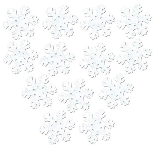 FR White Tissue Snowflakes   (25/Pkg)