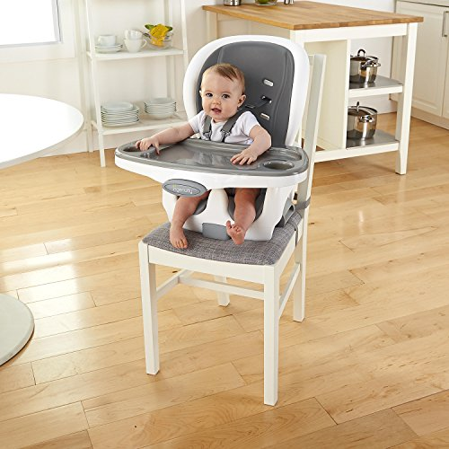 51V8VB71qKL - Ingenuity SmartClean Trio Elite 3-in-1 High Chair - Slate - High Chair, Toddler Chair, & Booster