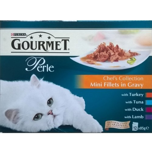 Cheap Gourmet Perle Chef's Collection Mini Fillets in Gravy Pouches – 12 x 85gm