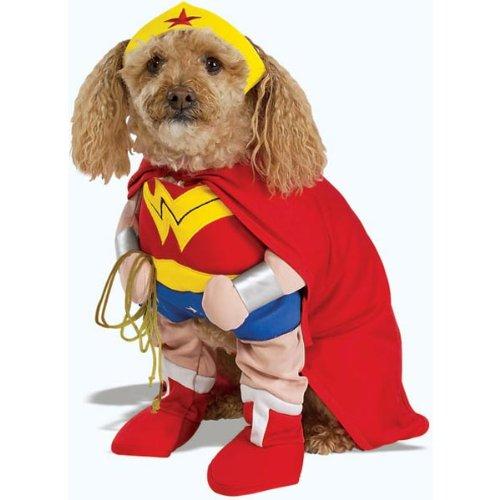 Wonder Woman Dog Costume - Large by Rubie's (Wonder Woman Dog Costume)