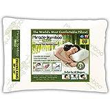 Ontel Original Miracle Bamboo Shredded Memory Foam Pillow-King, White